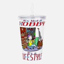 Gaming is a Lifestyle Acrylic Double-wall Tumbler