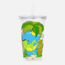 LOUNGIN.png Acrylic Double-wall Tumbler