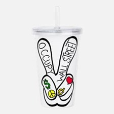 occupypeace.png Acrylic Double-wall Tumbler