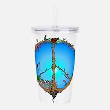 earthpeace.png Acrylic Double-wall Tumbler