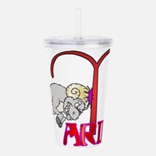 ARIES.png Acrylic Double-wall Tumbler