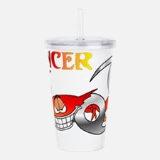 CANCER.png Acrylic Double-wall Tumbler