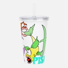PISCES.png Acrylic Double-wall Tumbler