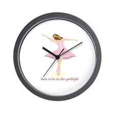 Born To Be In The Spotlight Wall Clock