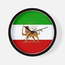 Shir O Khorshid Wall Clock