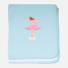 Ballerina Girl baby blanket