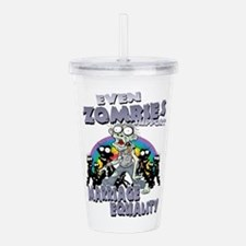 Zombies Support Marria Acrylic Double-wall Tumbler