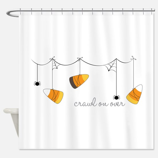 Crawl On Over Shower Curtain
