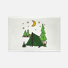 Tent Camping Magnets