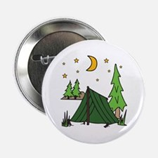 "Tent Camping 2.25"" Button"