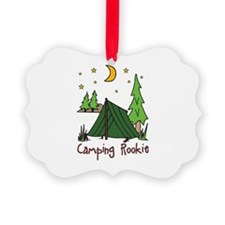 Camping Rookie Ornament