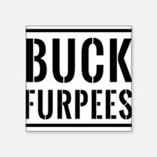 Buck Furpees Sticker