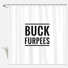 Buck Furpees Shower Curtain