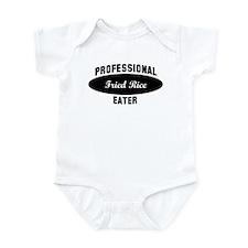 Pro Fried Rice eater Infant Bodysuit