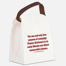 Disclosure Canvas Lunch Bag