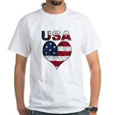 USA Heart-Americana Shirt