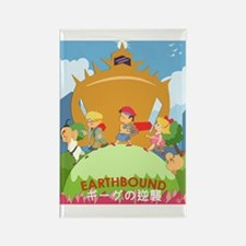 Earthbound Rectangle Magnet