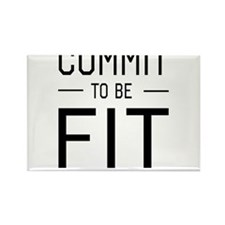 Commit to be fit Magnets