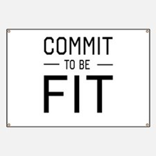 Commit to be fit Banner