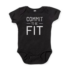 Commit to be fit Baby Bodysuit