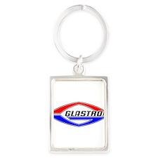 Glastron Classic Football logo Keychains