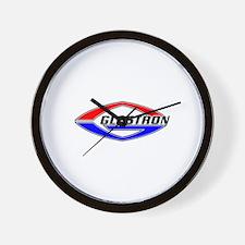 Glastron Classic Football logo Wall Clock