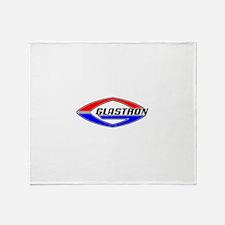 Glastron Classic Football logo Throw Blanket