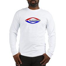 Glastron Classic Football logo Long Sleeve T-Shirt