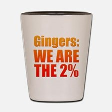 We Are The 2% Shot Glass