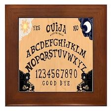 Ouija Board Framed Tile