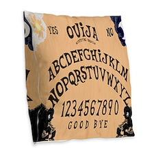 Ouija Board Burlap Throw Pillow