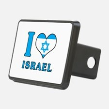 I Love Israel - Flag with Magen David Hitch Cover