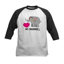 I Love My Mommies Elephant Tee