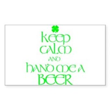 hand me a beer Decal