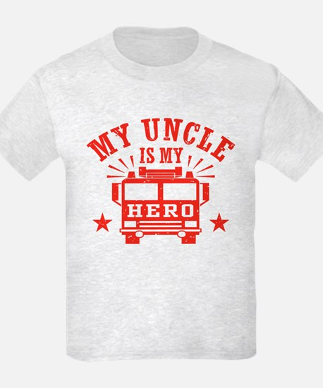 My Uncle Is My Hero Firefighter T-Shirt