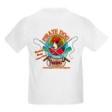 Ernest The Fishing Pirate Dog T-Shirt