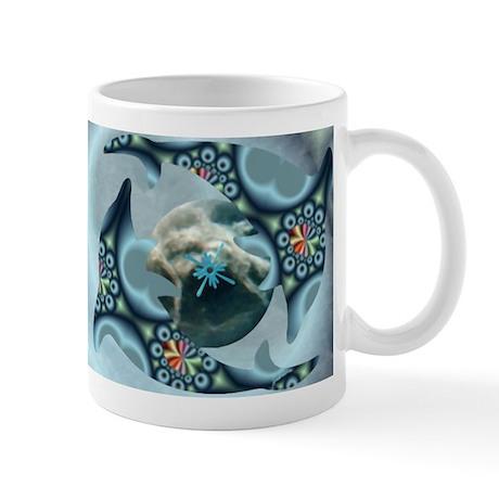 Dolphins at Dione Mug