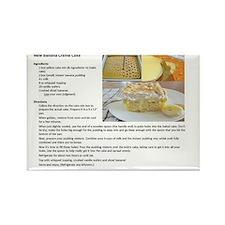 carrot cake recipe Rectangle Magnet