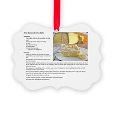carrot cake recipe Ornament