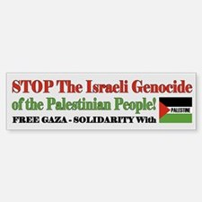 Free Gaza & Palestine - Bumper Bumper Bumper Sticker