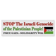 Free Gaza & Palestine - Bumper Bumper Sticker