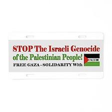 Free Gaza & Palestine - Aluminum License Plate