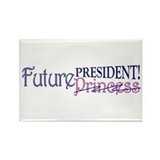 Future Princess Rectangle Magnet (10 pack)