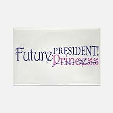 Future Princess Rectangle Magnet