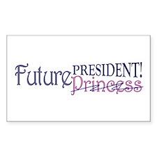 Future Princess Rectangle Decal