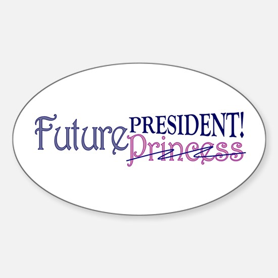 Future Princess Oval Decal