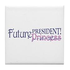 Future Princess Tile Coaster