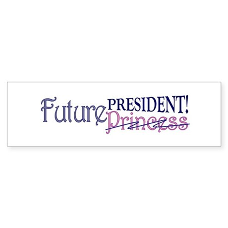 Future Princess Bumper Sticker