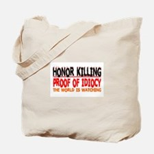 HONOR KILLING Tote Bag