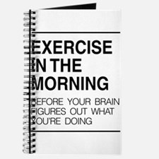 Exercise in the morning Journal